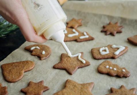 Как приготовить базовое имбирное печенье