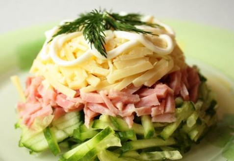 Рецепт - Салат «Баварский»