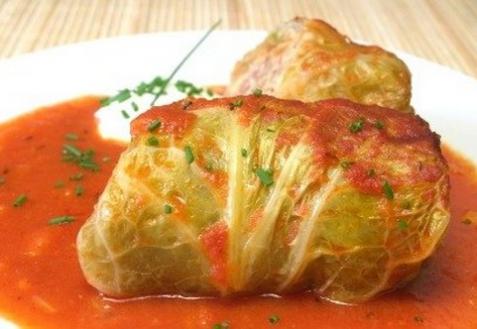Рецепт - Голубцы с овощной начинкой