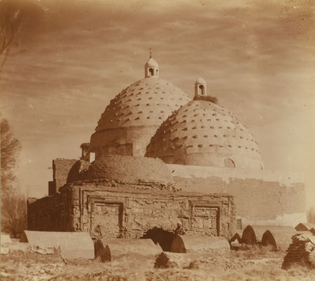 Бухарский мавзолей Буян-Кули-хана. Бухара, 1905 год.