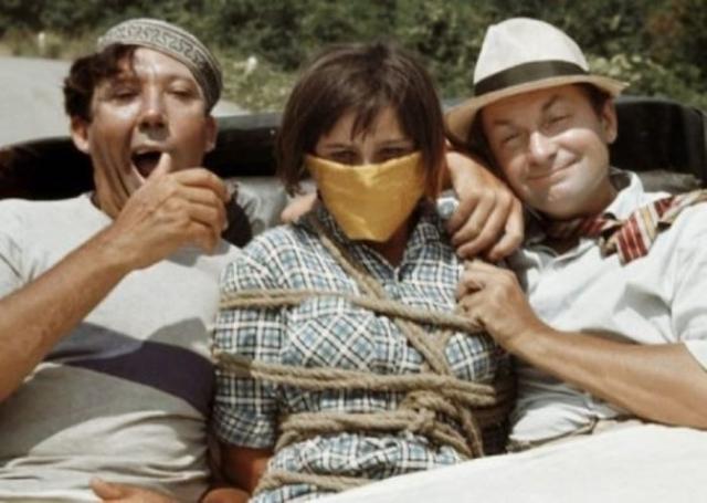Кадр из фильма *Кавказская пленница*, 1966 | Фото: tvkinoradio.ru