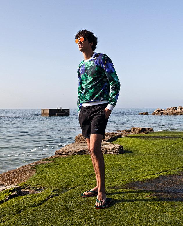 Фото 4 - Что носить на море: плавки, рубашки, обувь, аксессуары