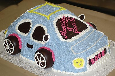Необычные торты (18 фото)