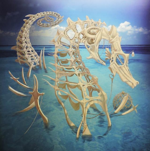 Морское чудовище. Автор: Heidi Taillefer.