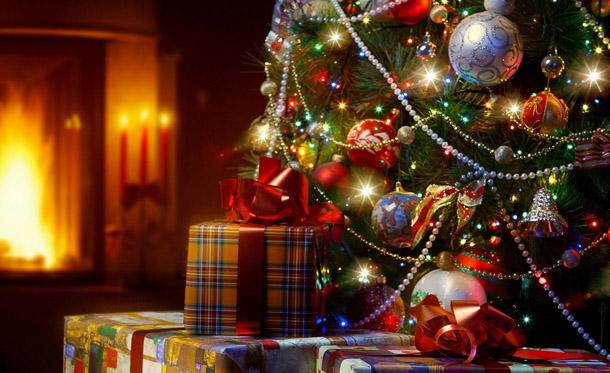 """Новогодняя картинка """"Новогодняя елка"""""""