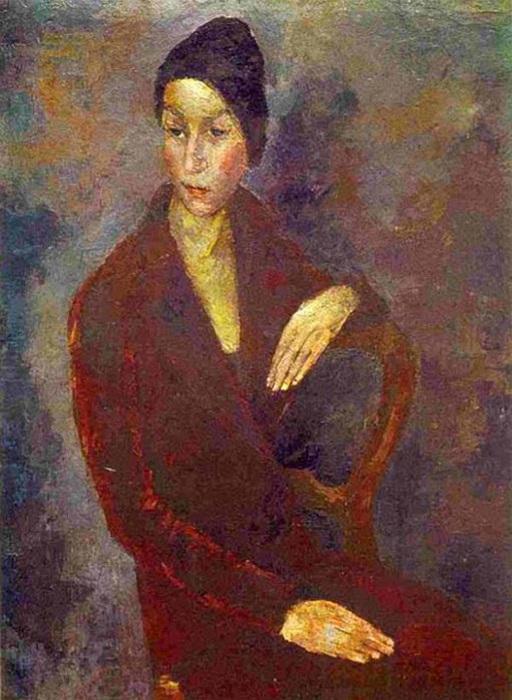 «Портрет Нарышкиной». (1929 г.). Автор: Роберт Рафаилович Фальк.