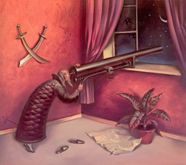 Падающая звезда. Автор: Владимир Куш.