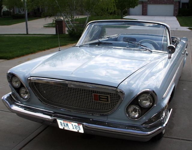 Chrysler 1962 года.