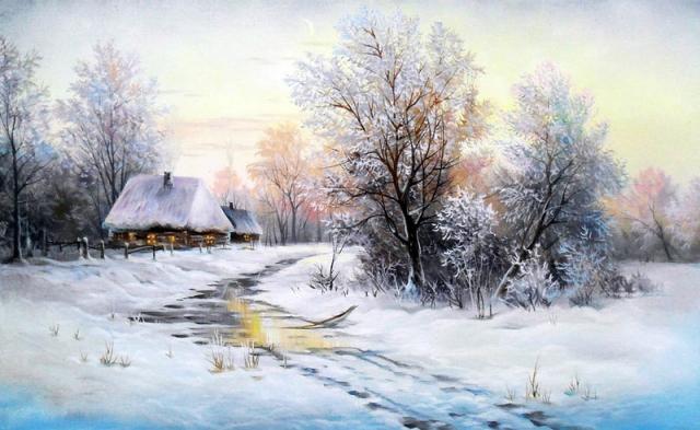 Пейзажи Юрия Корникова