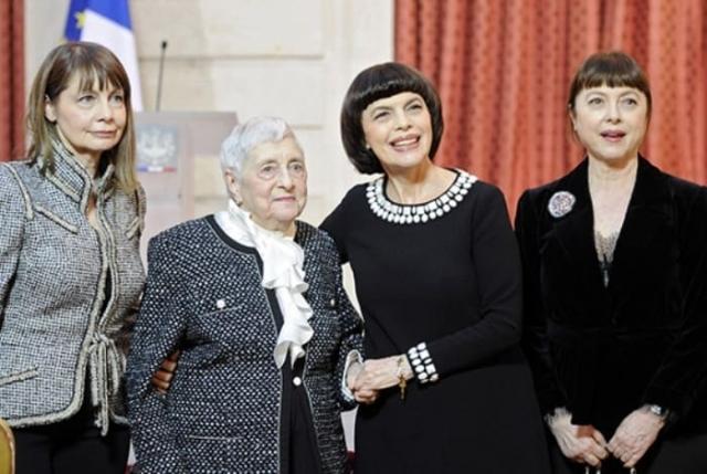 Мирей Матье с семьей | Фото: book-face.ru