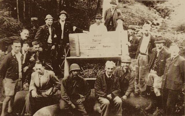 Шахта Альтауcзее в мае 1945 году.   Фото: en.wikipedia.org.