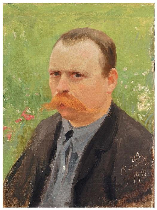 Автопортрет. (1910). Автор: Иван Владимиров.