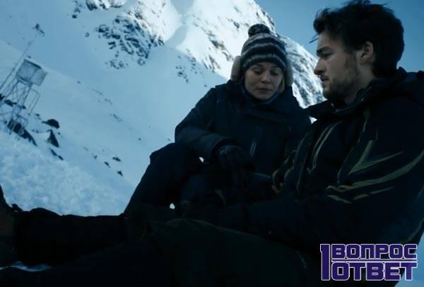 Кадр из фильма о случае в горах