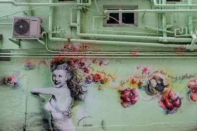 Яркие снимки с международной выставки современного искусства в Гонконге. Фото