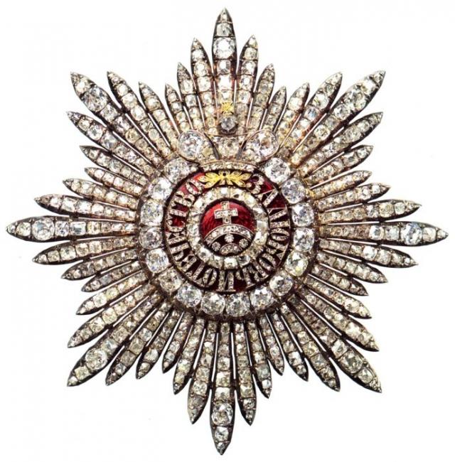 Бриллиантовая Звезда ордена Св. Екатерины
