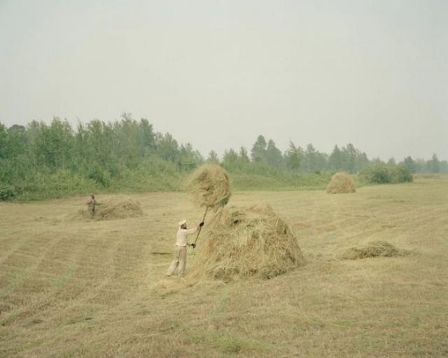 Деревня русских православных старообрядцев спрятана на Западно-Сибирской равнине.