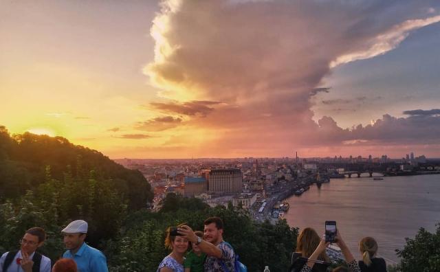 Самое фотогеничное небо страны. Фото: @bogun.life