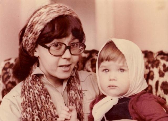 Ядвига Поплавская с дочерью Анастасией. / Фото: www.vsr.mil.by