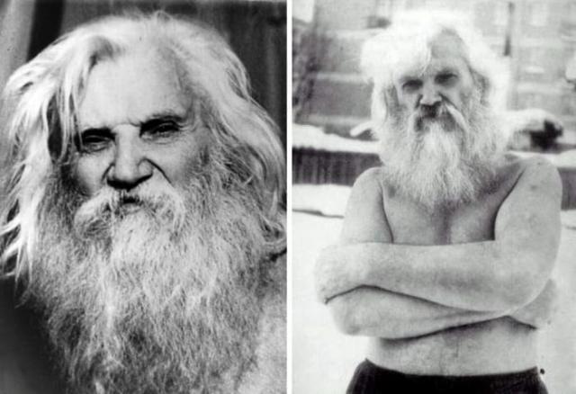 Самый популярный в СССР в 1980-х гг. целитель Порфирий Иванов | Фото: ruspekh.ru и slavs.org.ua