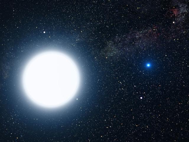 Одну из самых ярких звезд на небосводе отыскали ученые в далекой галактике