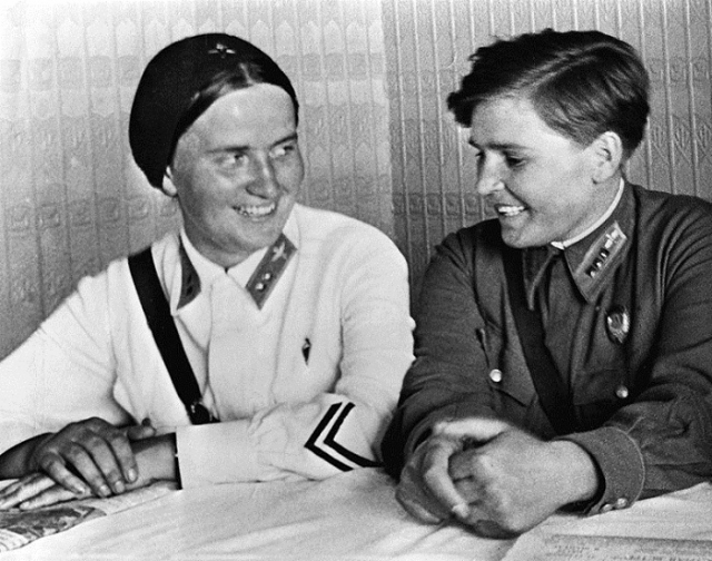 Раскова и Гризодубова.