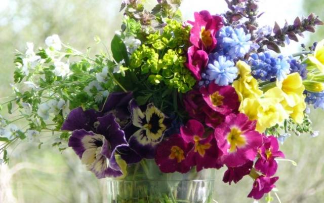 Букет из красивых цветов