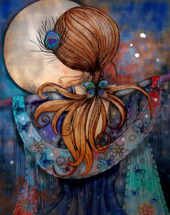 Ноченька. Автор: Karin Taylor.