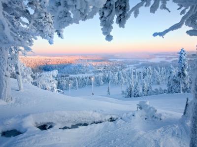 Волшебные зимние пейзажи со всего мира. Фото