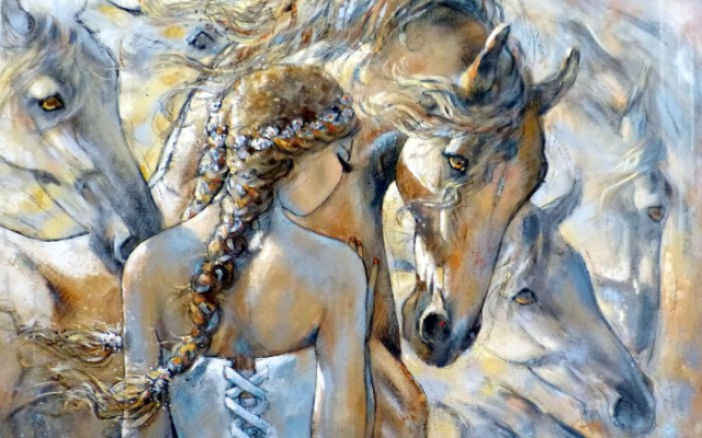 Воздух и свет. Автор Jeanne Saint Cheron.