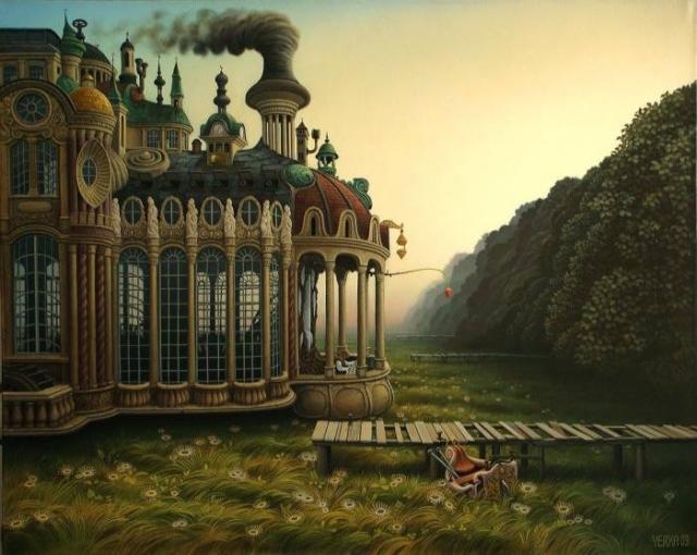 Барокко. Автор: Jacek Yerka.