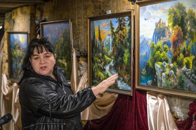 руководительница арт-студии Мария Василевская