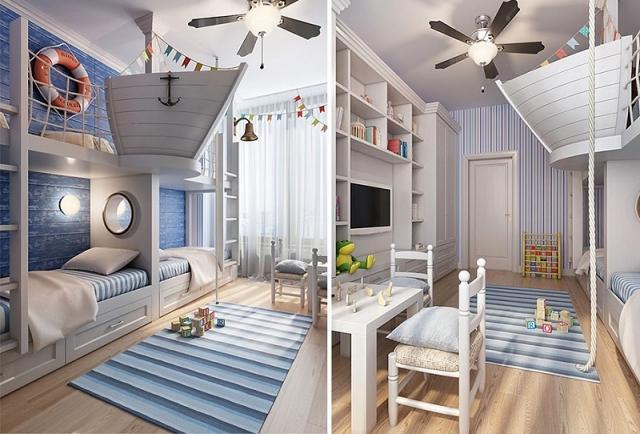 Фото: Интересные идеи сказочной комнаты для ребенка (Фото)