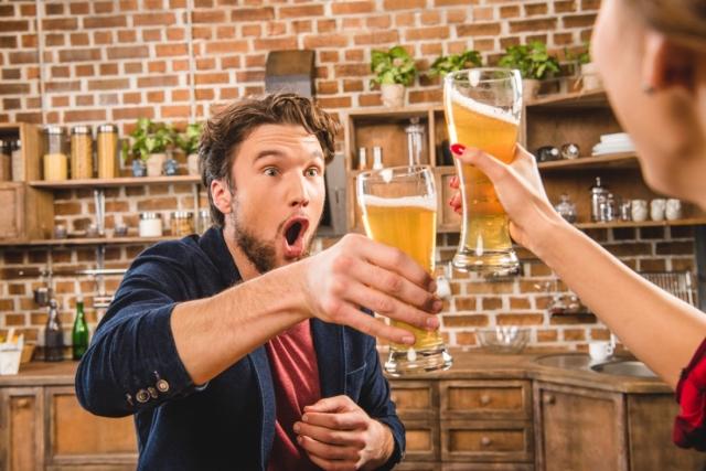 Когда узнал, что пиво полезно не только когда болтается в желудке