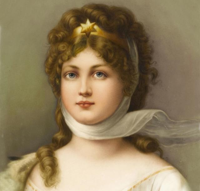 Луиза не очень любила учиться, но, когда стала королевой, взялась за ум.