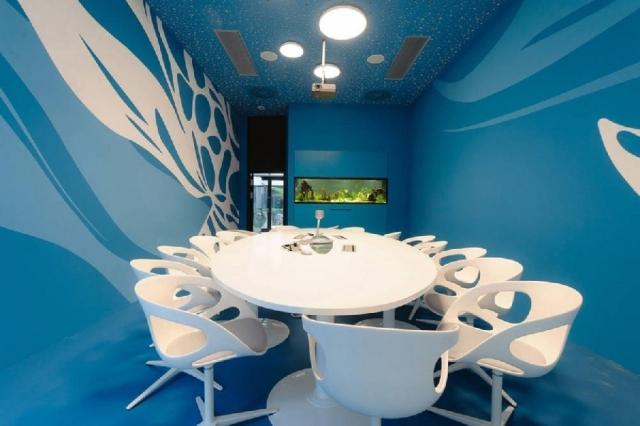 Фото: Как выглядят самые креативные офисные пространства в мире (Фото)