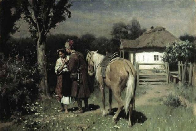 «Украинская ночь. Свидание». Автор: Николай Пимоненко.