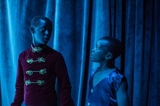 Джордж и Шамик за кулисами во время репетиции «Щелкунчик». Автор: Автор: Frederik Lerneryd.