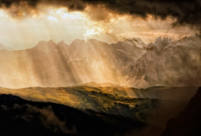 Удивительные фотографии европейских гор и озер от Andrea Visca