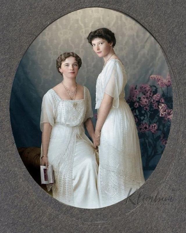 Исторические фотографии в цвете