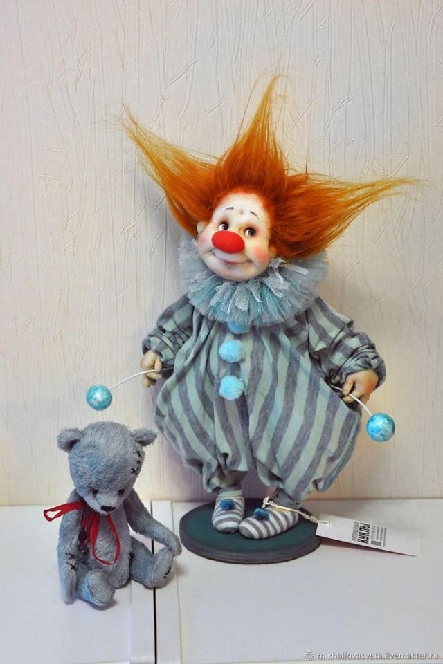 Позитивнейшие куклы ручной работы. - 6