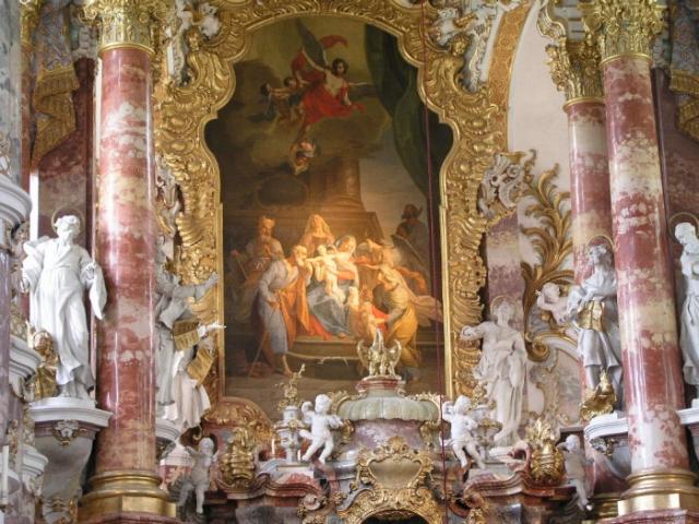 Алтарь церкви в Висе. | Фото: flickr.com.