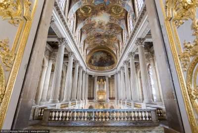 Версальский дворец в интересных деталях. Фото