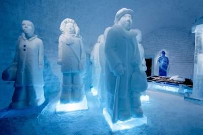 Ледяные апартаменты самого необычного в мире отеля. Фото