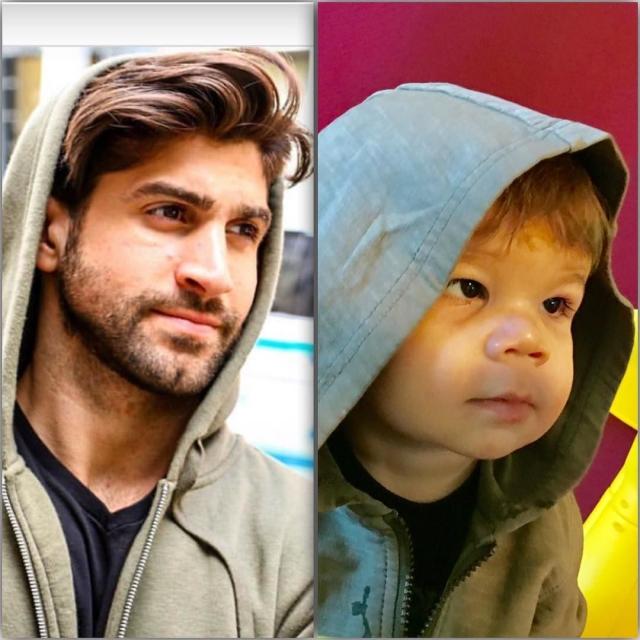 Фото: Малыш получается круче на снимках, чем его дядя-модель (Фото)