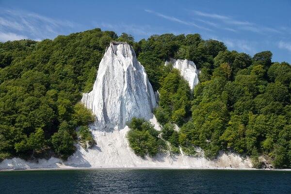 """""""Королевский трон"""" и другие меловые скалы на острове Рюген в Германии"""
