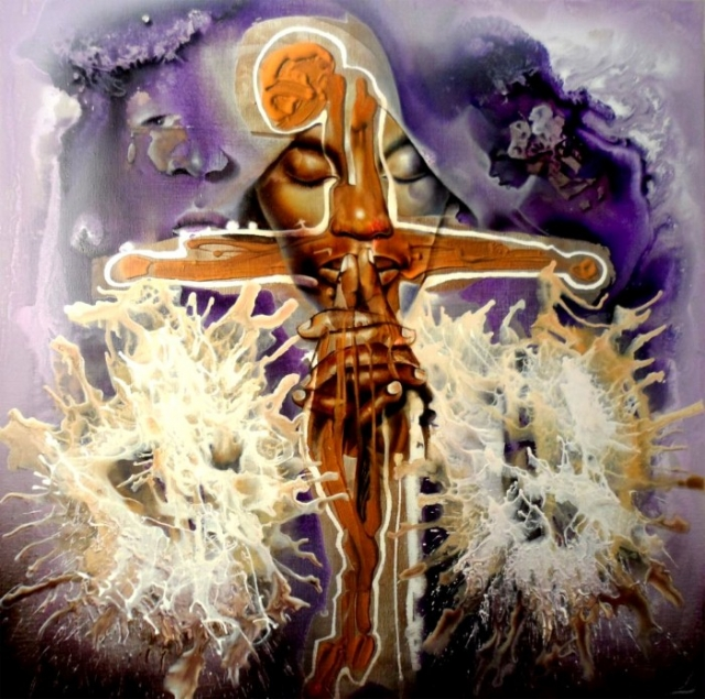Символизм в картинах заирского художника Клоди Хана (Claudy Khan).