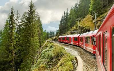 Самые опасные железные дороги в мире. Фото