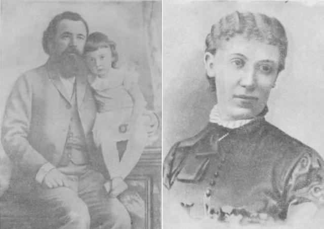 Слева – Склифосовский с младшей дочерью Тамарой. Справа – жена хирурга Софья | Фото: kp.ua