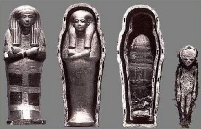 Древнеегипетские артефакты.