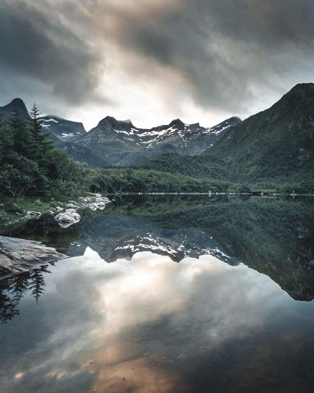 Красота норвежских пейзажей от Стефа Коцила